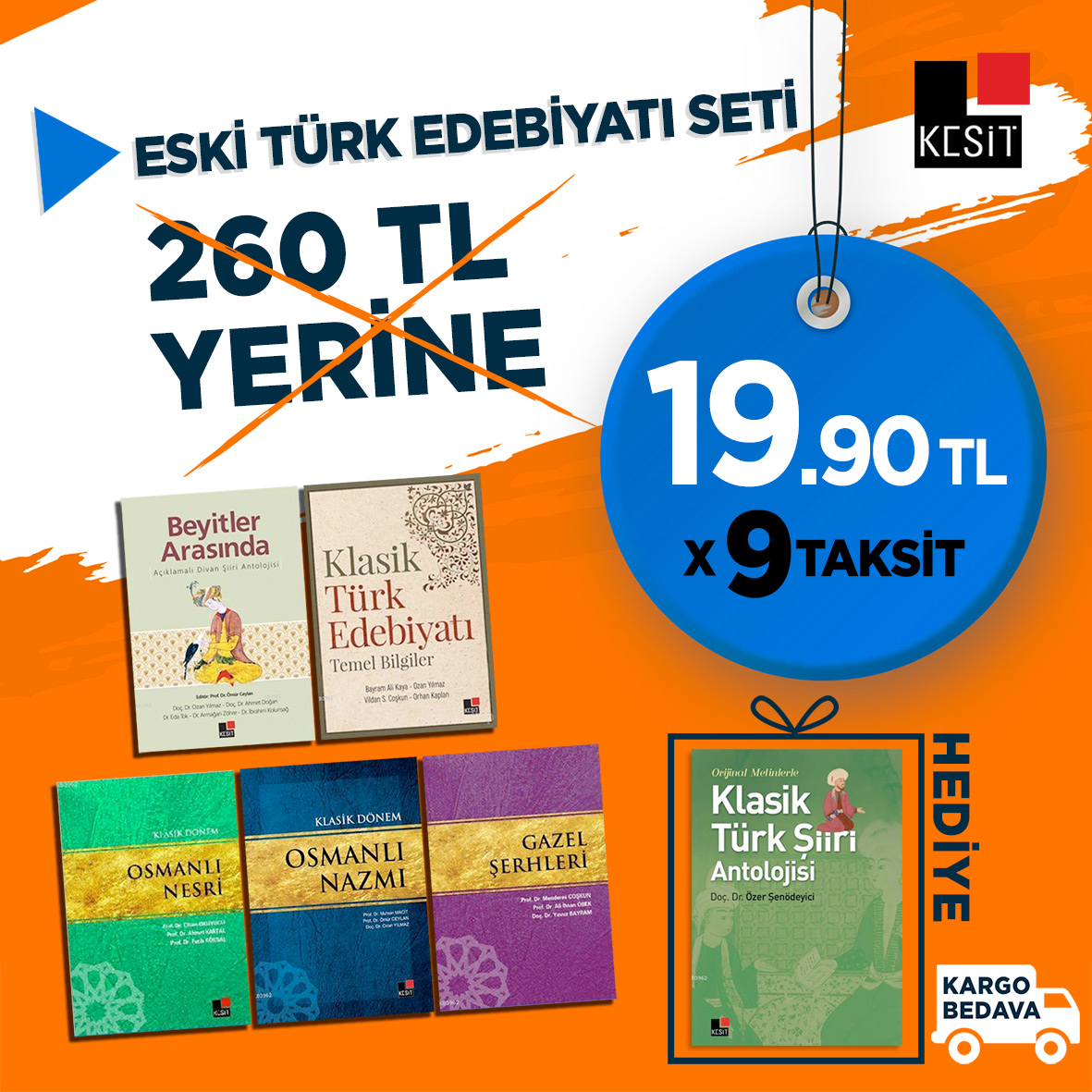 Eski Türk Edebiyatı Seti