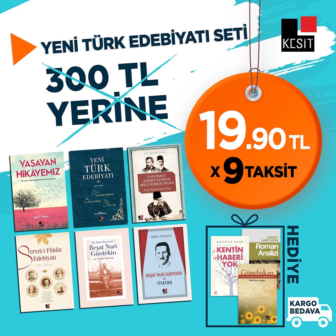 Yeni Türk Edebiyatı Seti